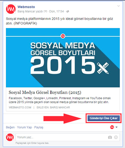 Facebook Dark Post reklam oluşturma 10
