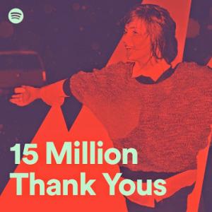 Spotify teşekkür mesajı