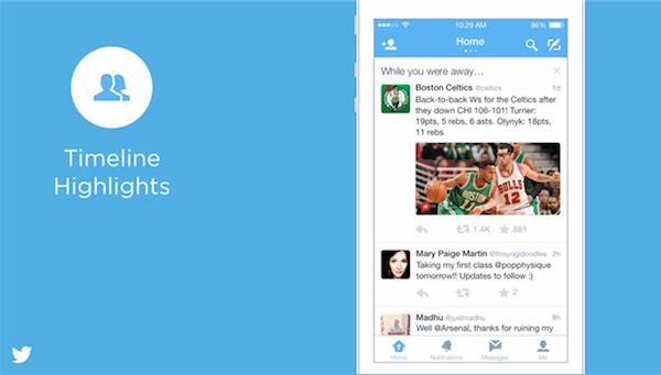 Twitter Zaman Tüneli Öne Çıkanlar (Timeline Highlights)