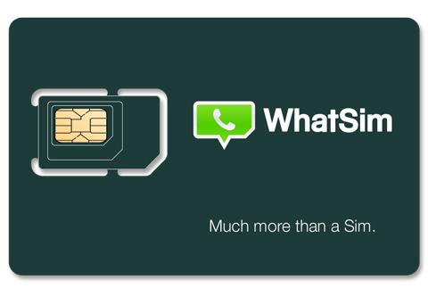 WhatSim - WhatsApp SIM kartı