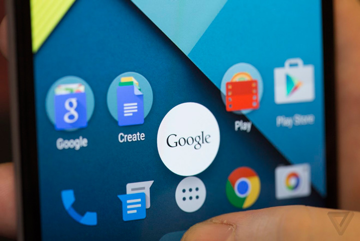 Android Lollipop (The Verge)