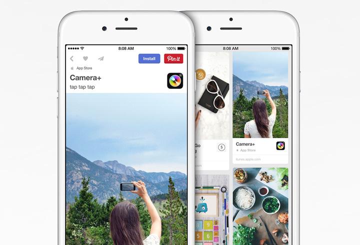 Pinterest App Pin