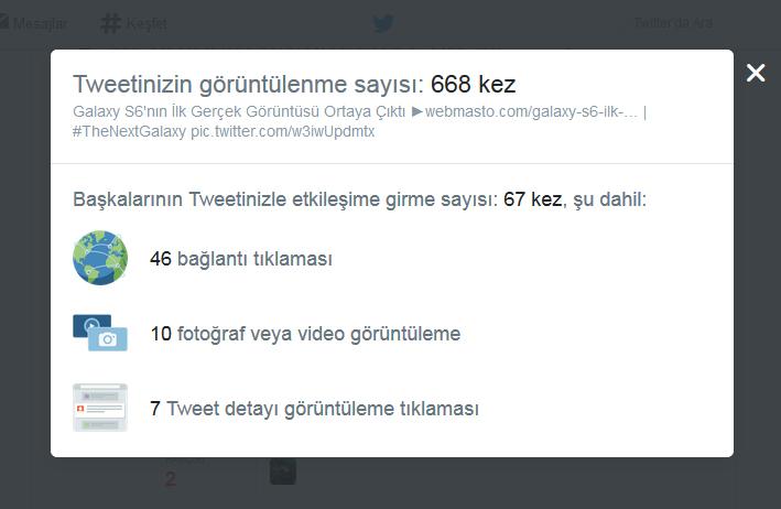 Twitter web üzerinde tweet analiz testi