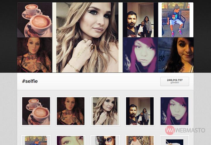Instagram website hashtag