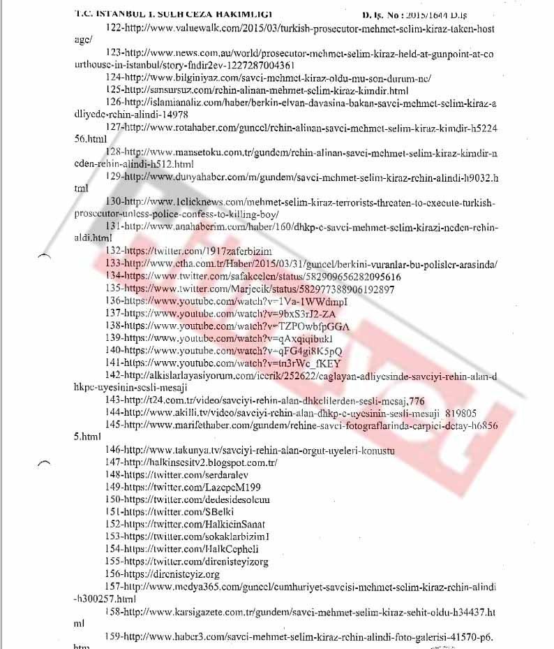 Erişim Engeli İstenen Linkler (Sayfa 5)