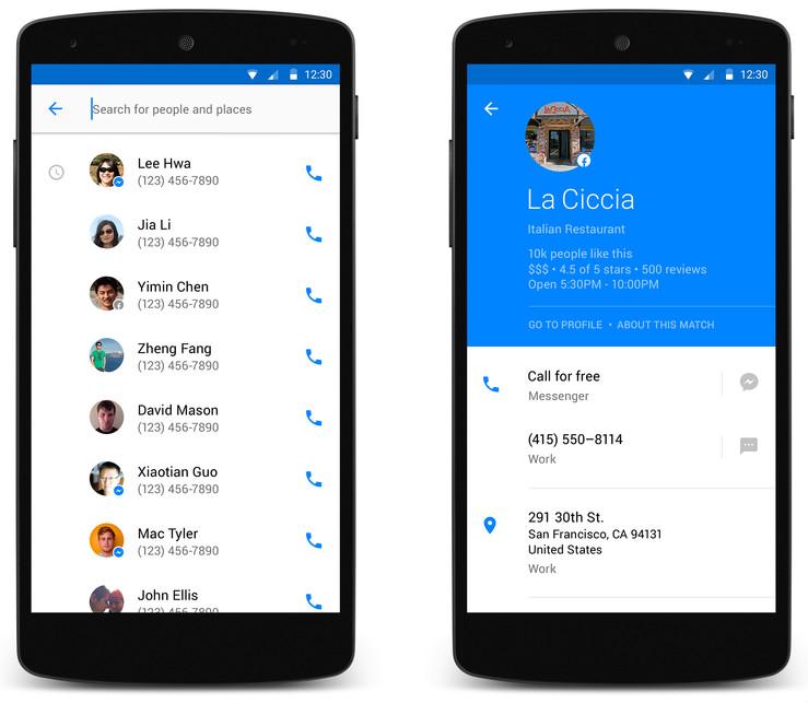 Facebook Hello Android Arama Uygulaması