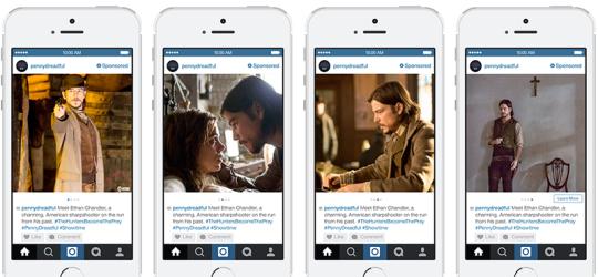 Showroom Instagram Carousel Ads