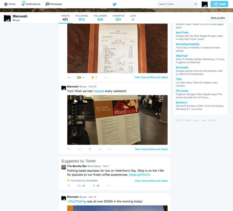 Twitter profil reklamları