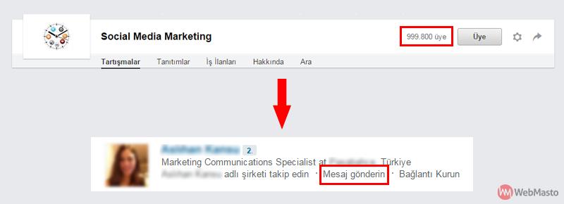 LinkedIn'de InMail gereksinimi olmadan kişilere mesaj gönderebilirsiniz.