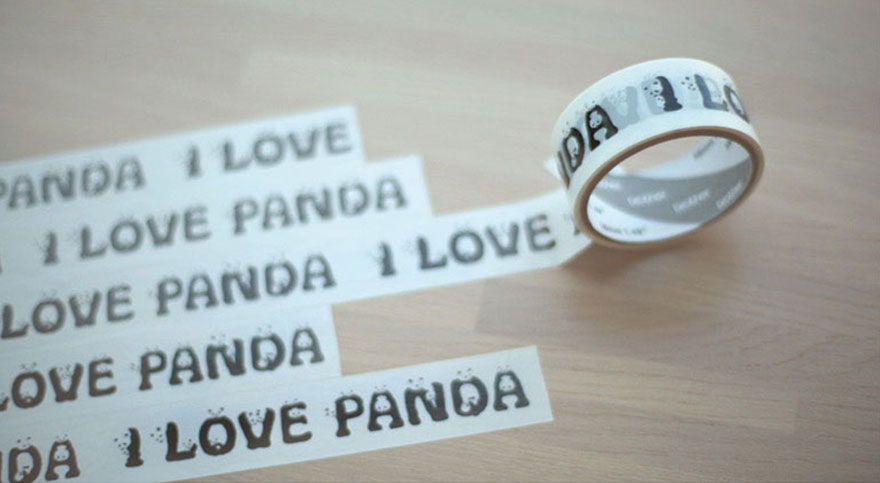 Panda yazı fontu