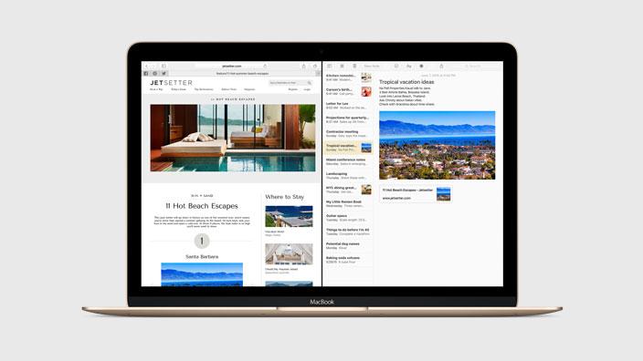 OS X El Capitan - E-posta