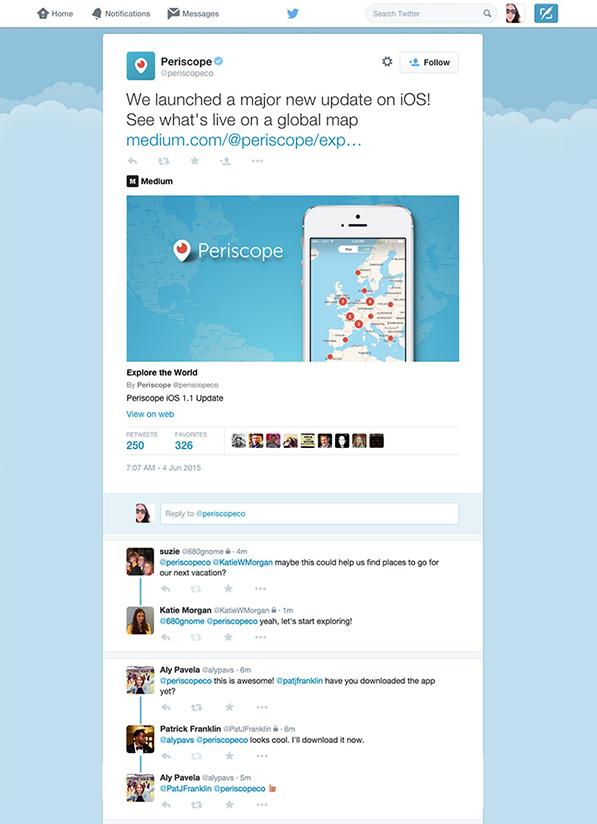 Twitter yanıtları gruplama