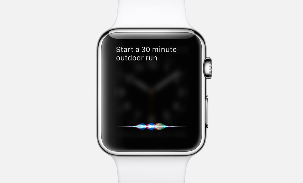 watch OS 2 ile Siri etkileşimli bir şekilde çalışıyor.