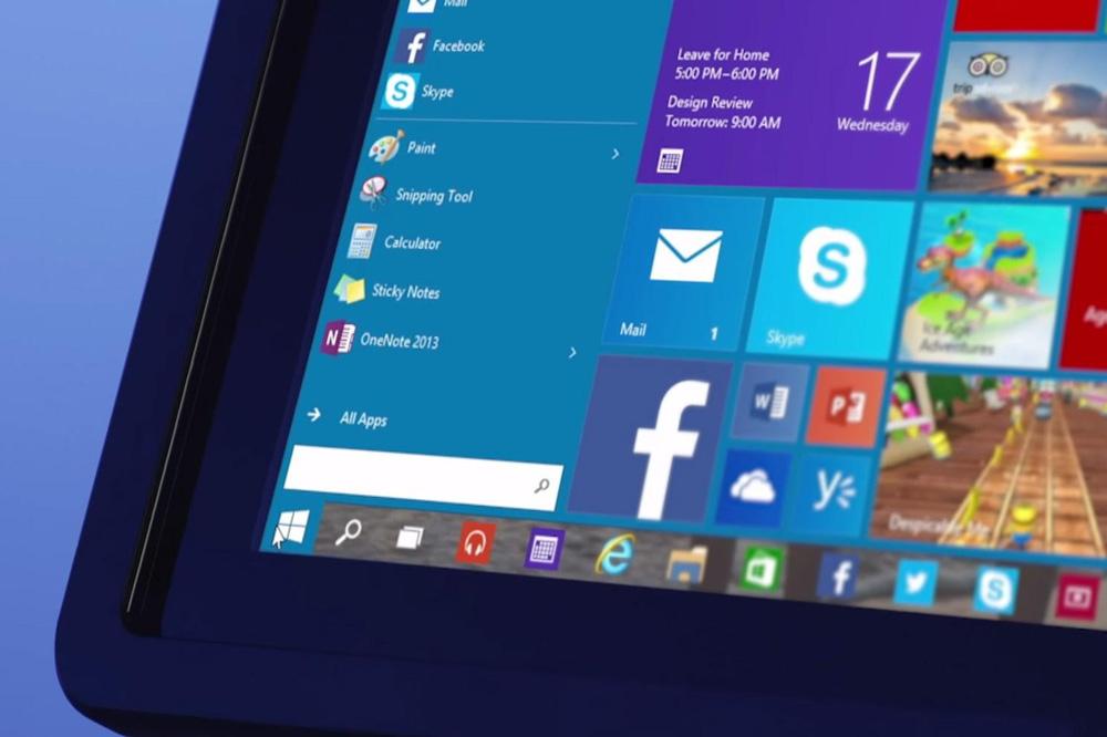 Windows 10 Başlat Menüsü