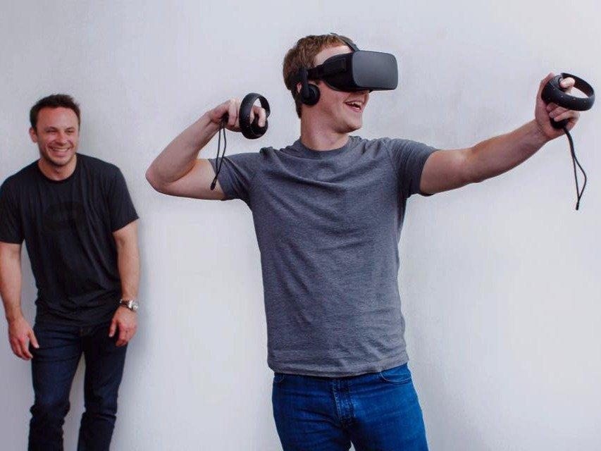 Mark Zuckerberg sanal gerçeklik Oculus Rift