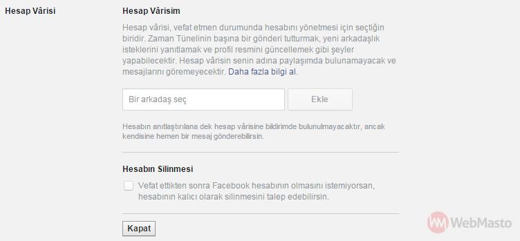 Facebook Hesap Varisi