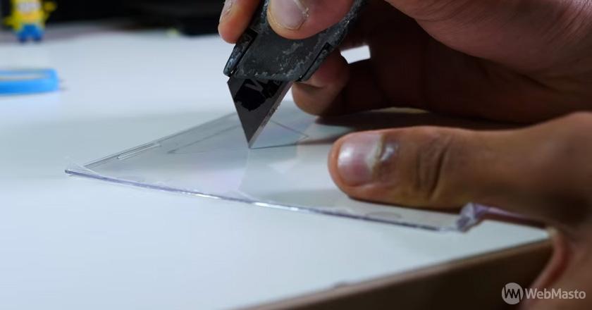 3D Hologram yapımı - Adım 4