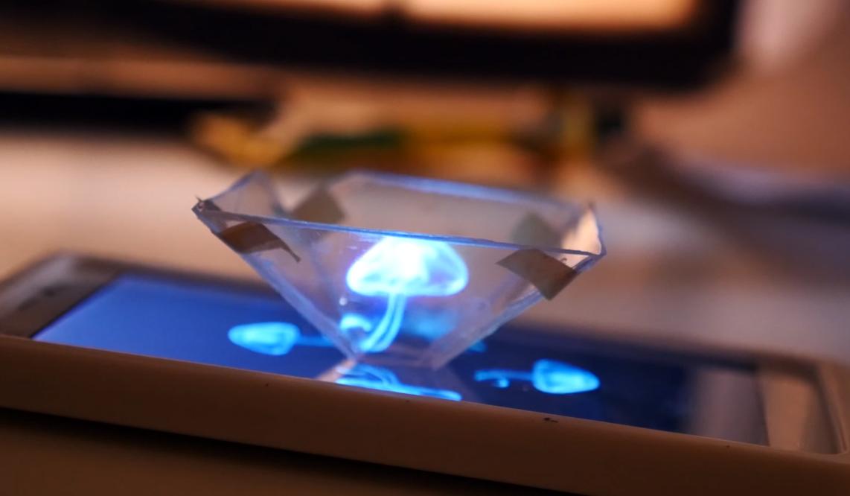 3D Hologram yapımı