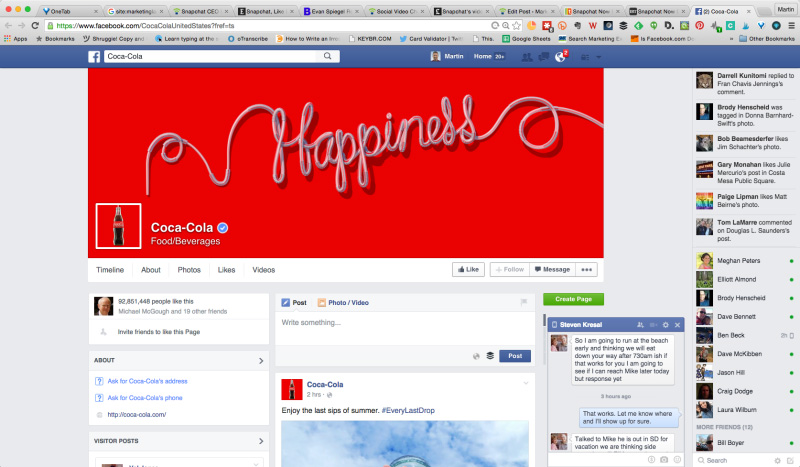 coca-cola-facebook-sayfasi-yeni