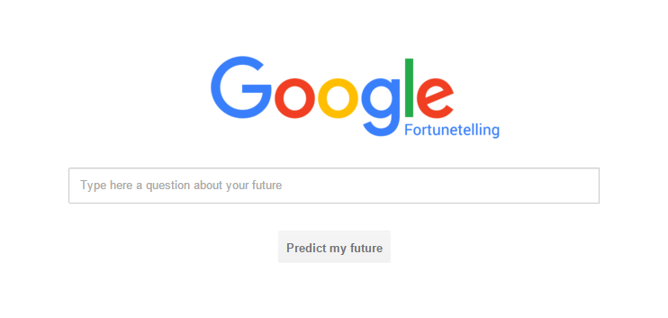 Google Fortunetelling