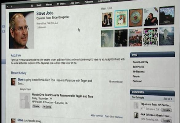 Steve Jobs Ping