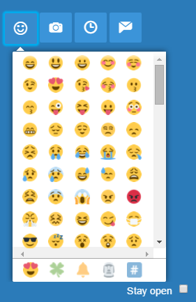 TweetDeck Emoji