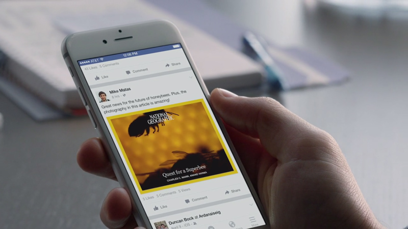 Facebook Instant Articles iOS