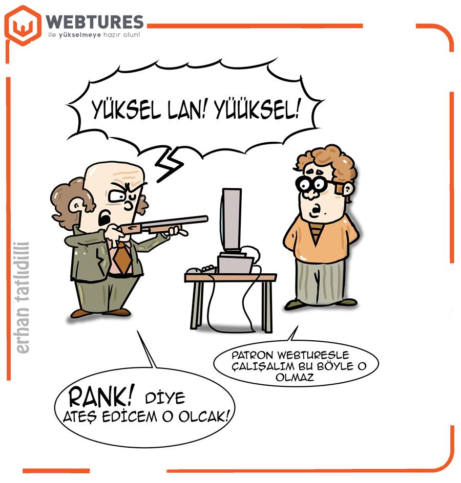 Webtures SEO Karikaturleri - Penguen Erhan Tatlidilli (1)