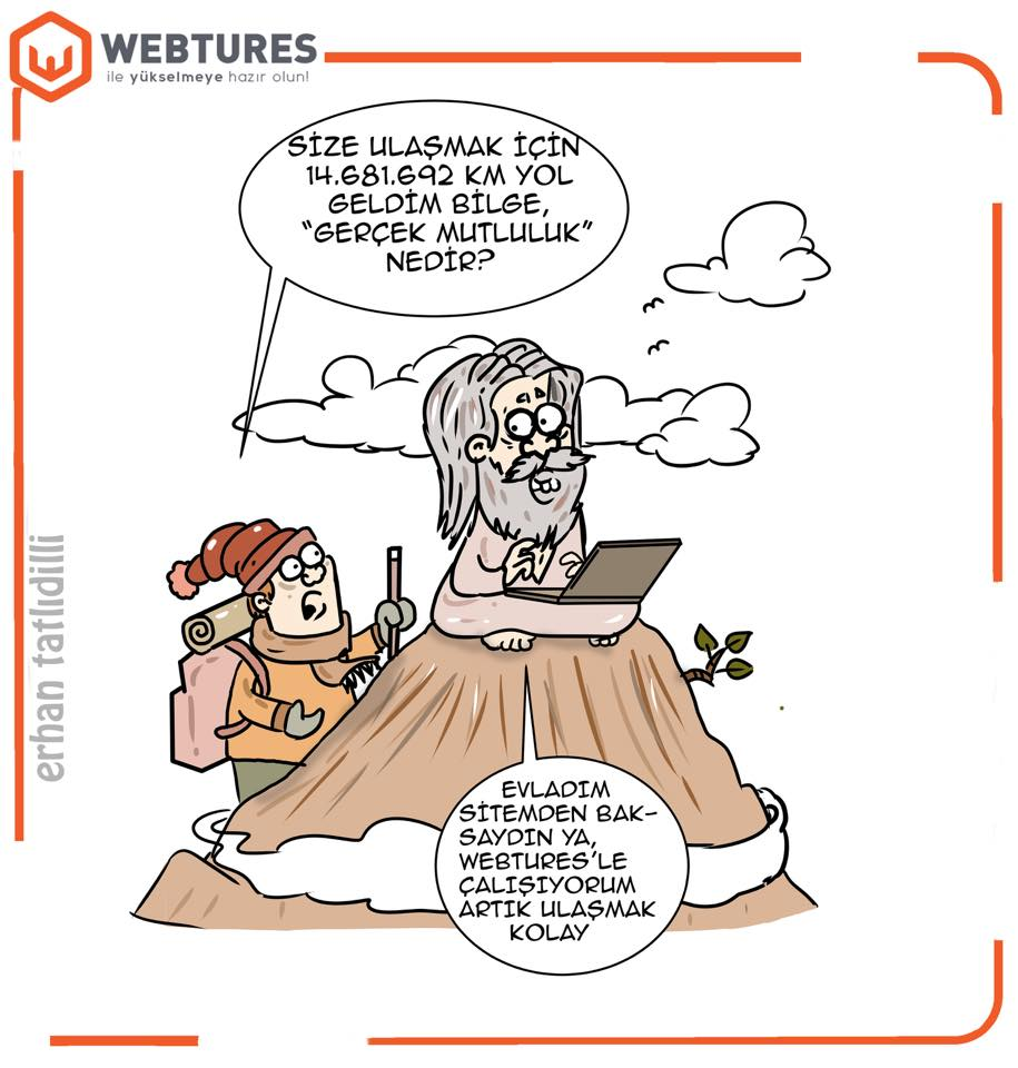 Webtures SEO Karikaturleri - Penguen Erhan Tatlidilli (10)