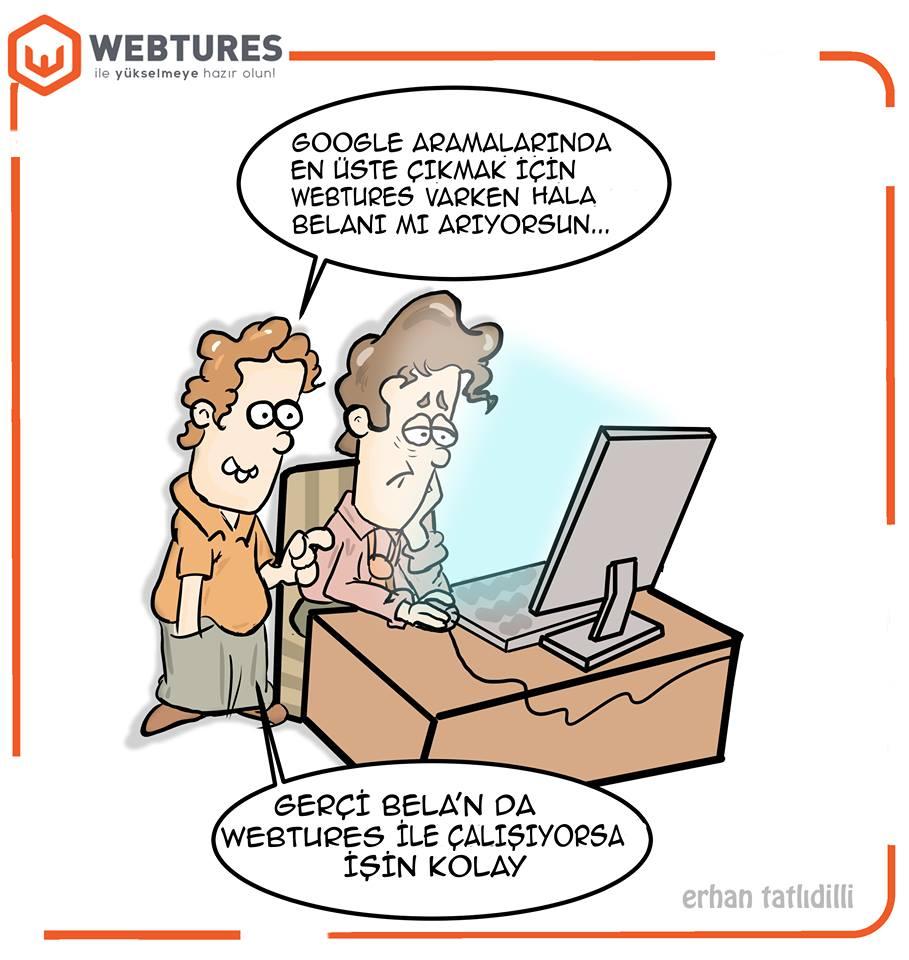 Webtures SEO Karikaturleri - Penguen Erhan Tatlidilli (8)