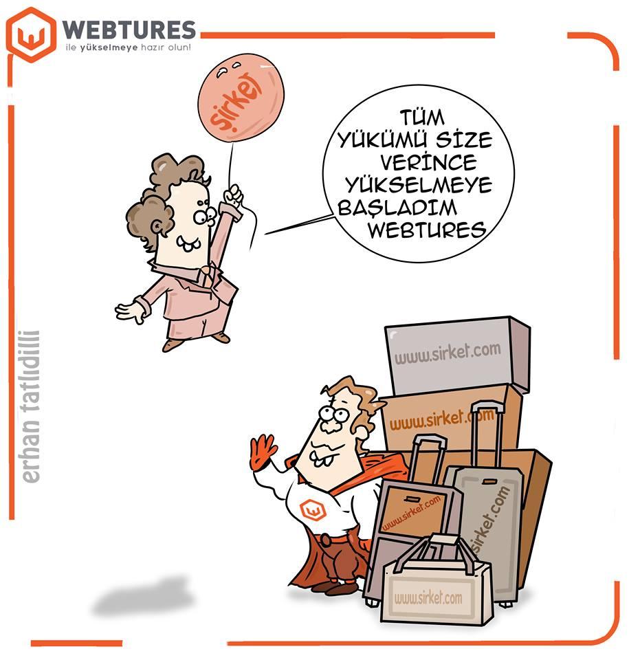 Webtures SEO Karikaturleri - Penguen Erhan Tatlidilli (9)