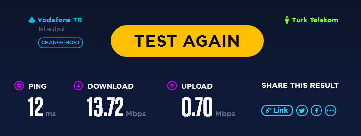 Speedtest.net HTML5