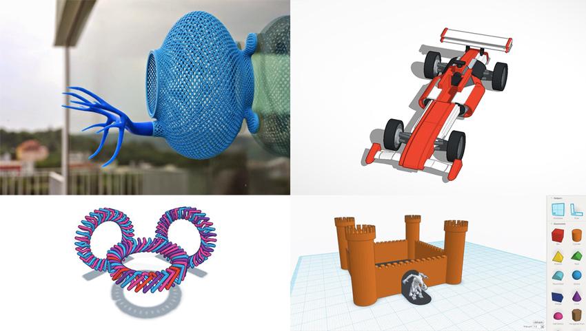 3D çizimler