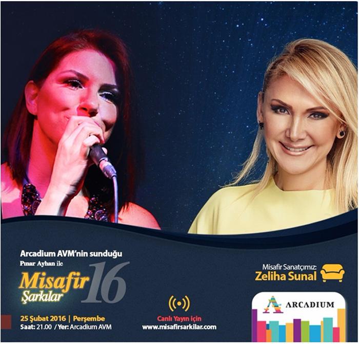 Arcadium AVM - Pınar Ayhan ile Misafir Şarkılar
