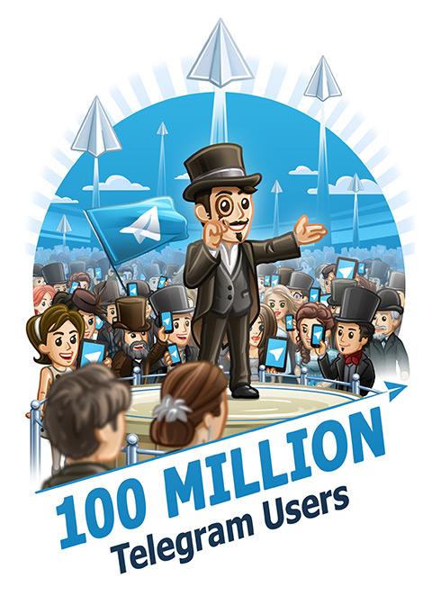 Telegram 100 milyon kullanıcı