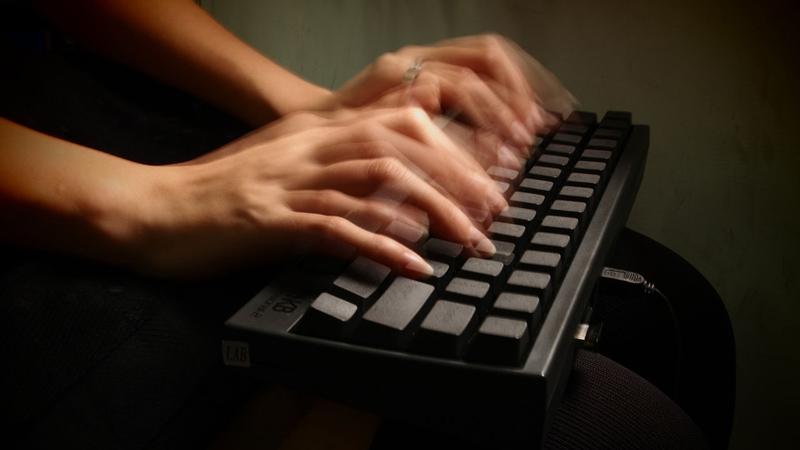 Hızlı yazma F klavye
