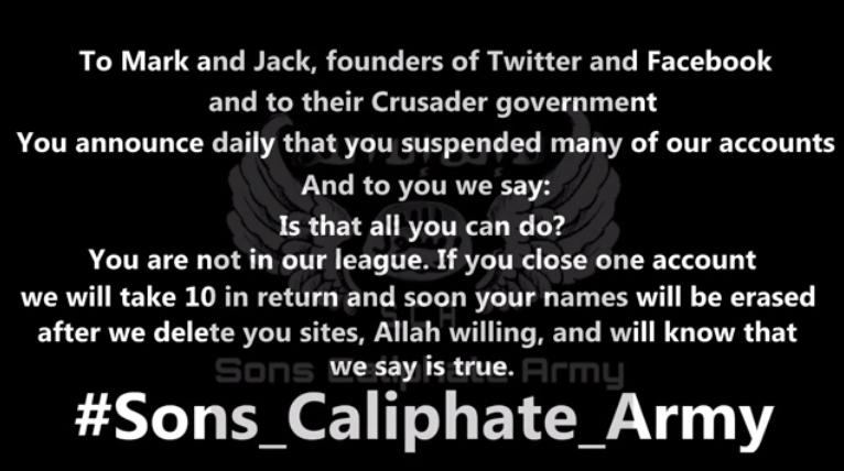 IŞİD Facebook - Twitter