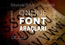 Online Font Araçları