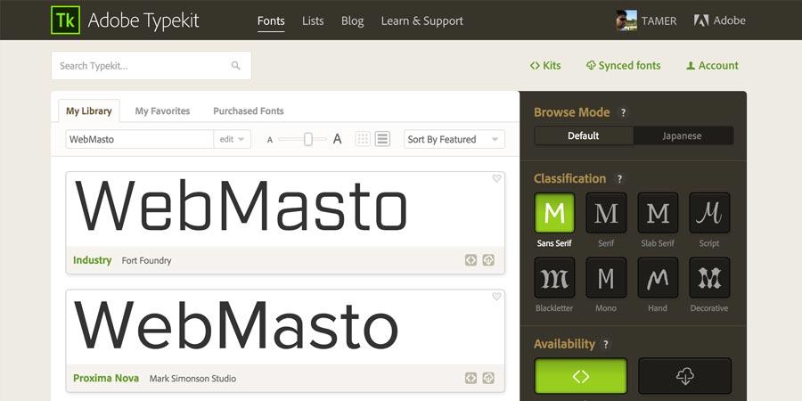 typekit.com/fonts