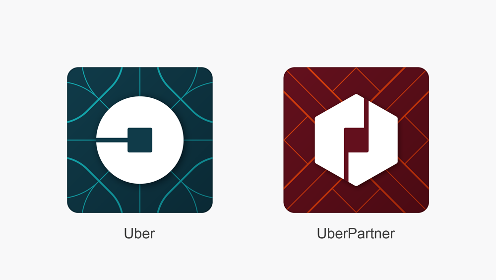 Uber - UberPartner mobil ikonları