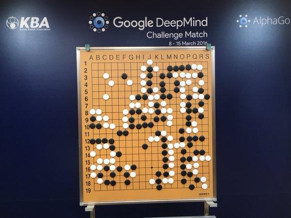 AlphaGo vs Lee Se-dol Go oyunu