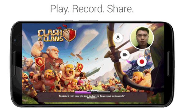 Android Oyun-Canlı-Yayın-Video-Kaydetme
