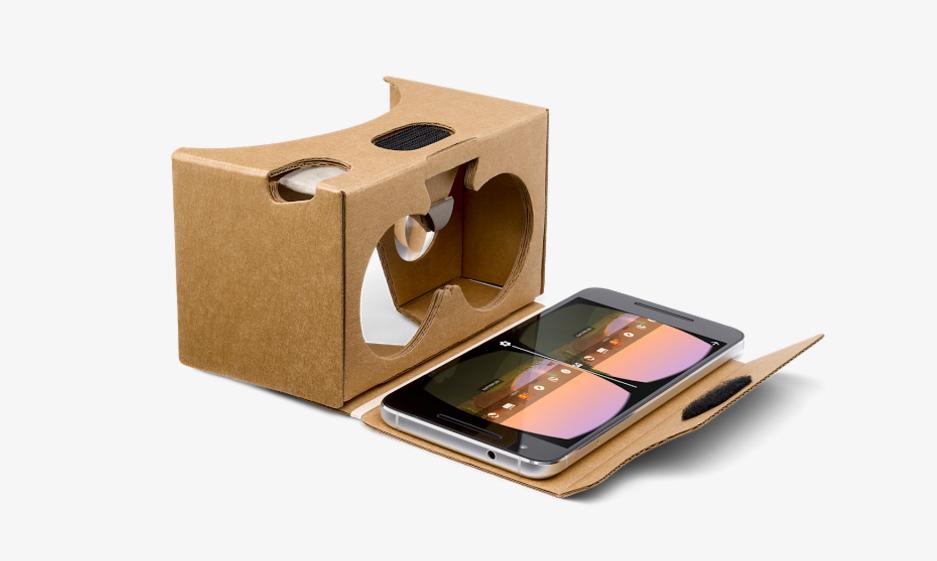 Google Cardboard sanal gerceklik gozlugu