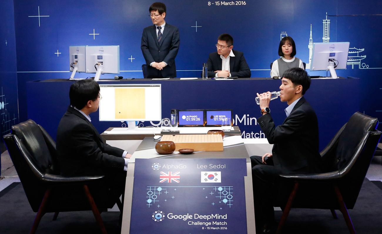 AlphaGo vs Lee Se-dol Go oyunu karşılaşması