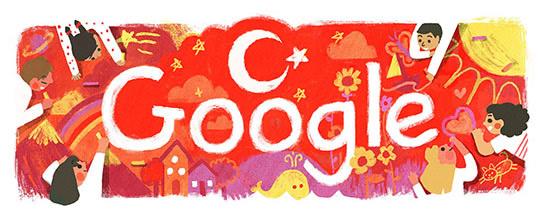 23 Nisan 2016 Google Doodle