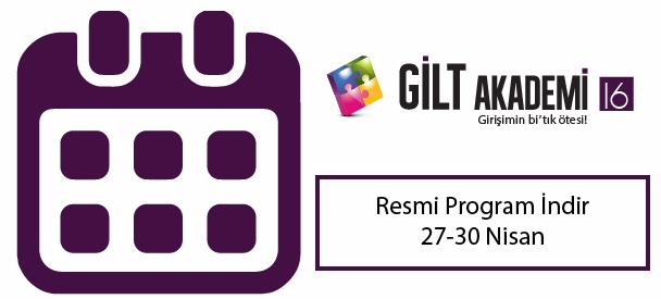 GİLT Akademi 2016 Resmi Program