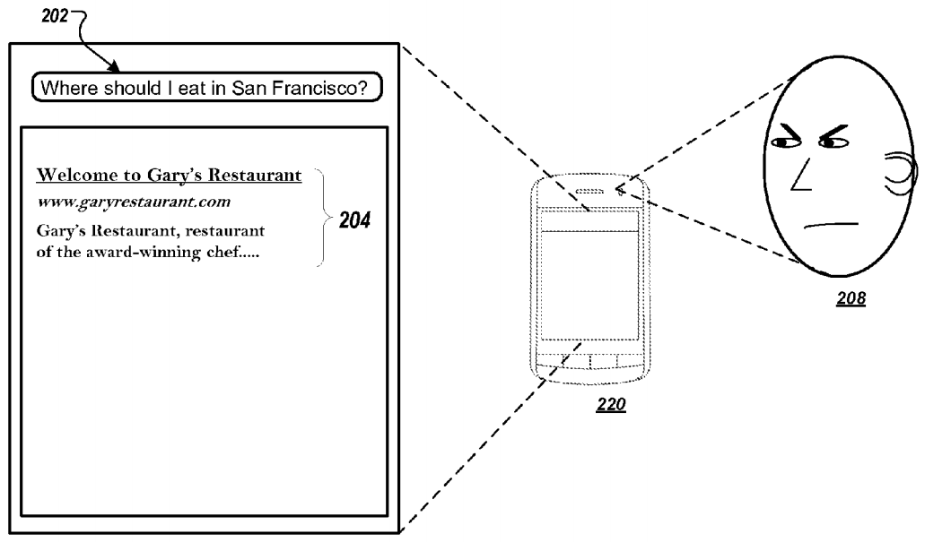Google biyometrik veri patenti