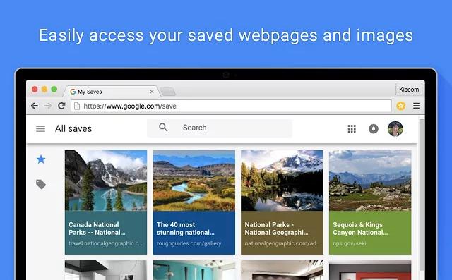 Save to Google Chrome uzantısı