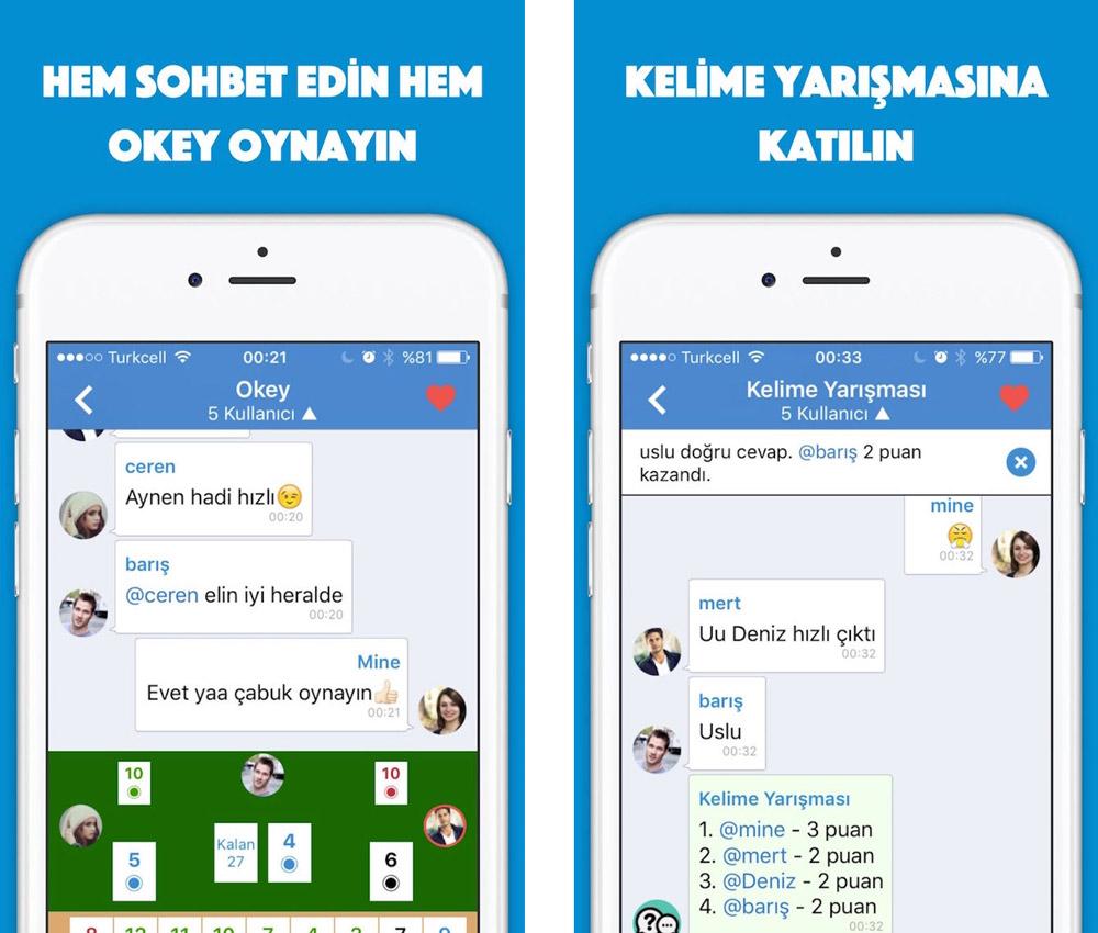 Zurna Chat iOS uygulaması