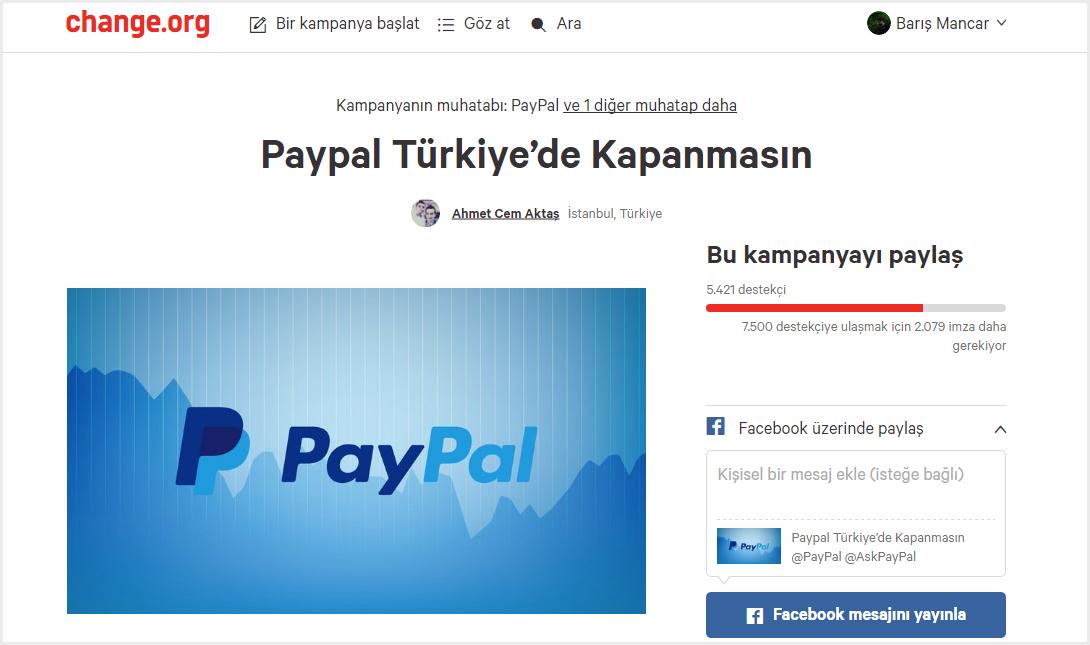 Changeorg-paypal-turkiye